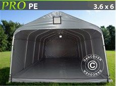 Portable Garage PRO 3.6x6.0x2.7 m PE, with ground cover