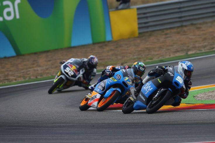 Fenati, Moto3 race, Aragon MotoGP 2014