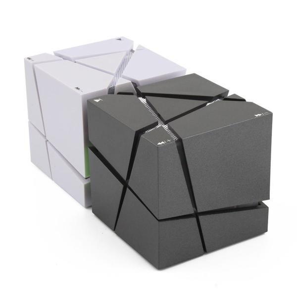 Qone7 EDGE Portable Mini Bluetooth Speaker with LED