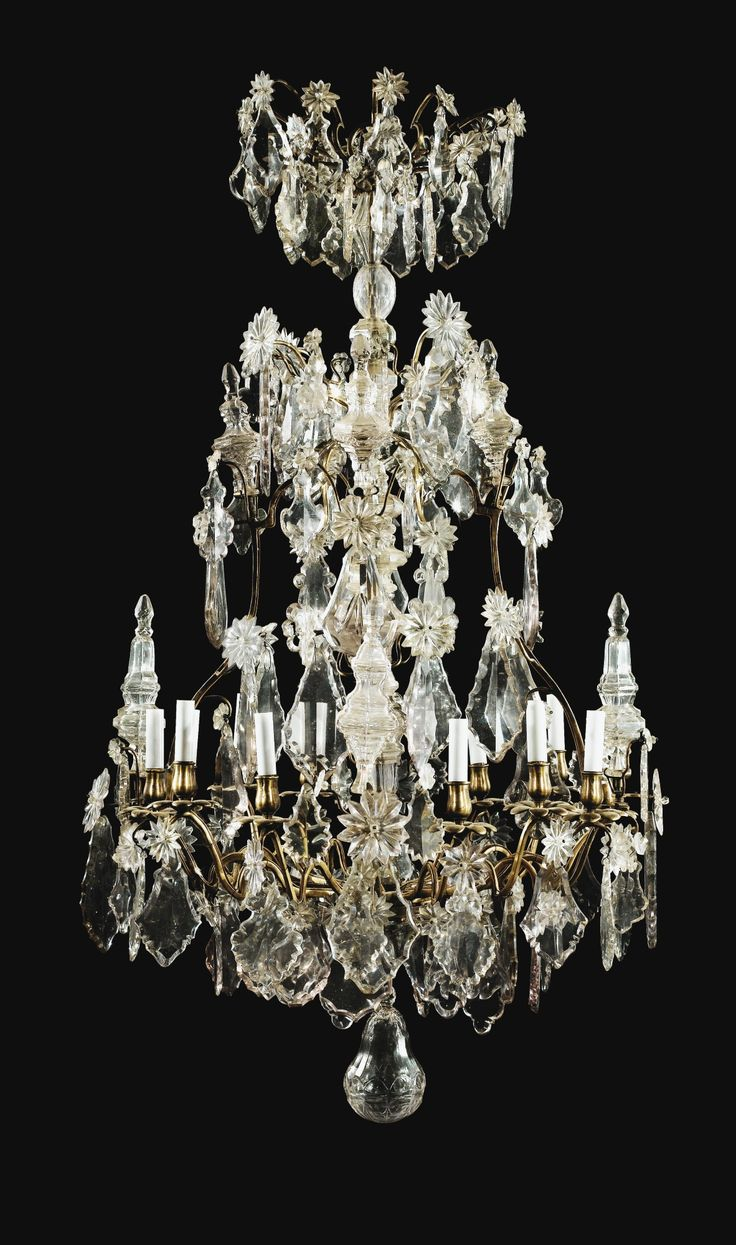 1202 best candeeiros tecto images on pinterest chandeliers cut glass chandelier copper and bronze painted louis xv period most likely delivered by the merchant draper alexis delaroue arubaitofo Image collections