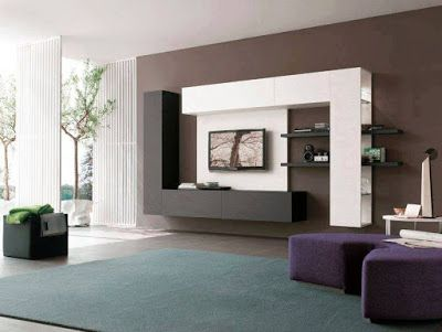 Interesting Home Interior Wall Unit leather tiles in bedroom wall design Amazing Tv Wall Units Ideas Will Make Your Room Awesome Home Interior Designs