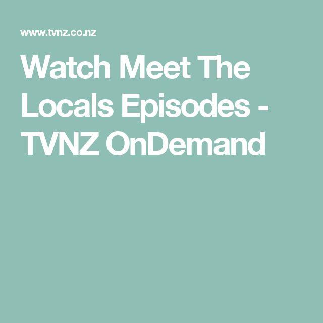 Watch Meet The Locals Episodes - TVNZ OnDemand