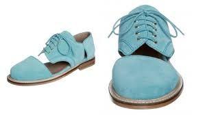 Resultado de imagen para zapatos tipo oxford mujer