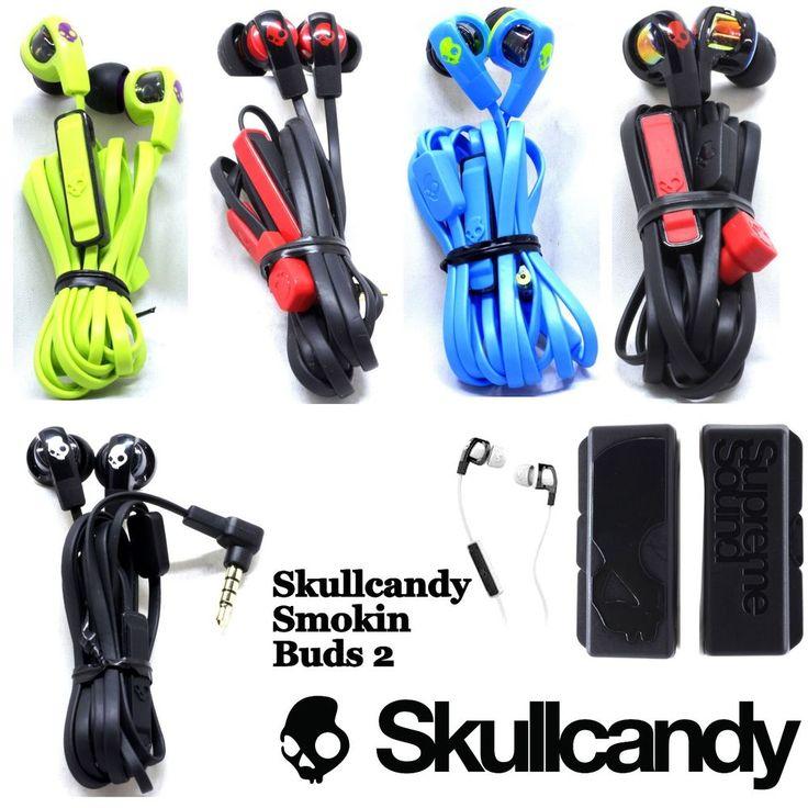 New Skullcandy SMOKIN BUDS 2 Supreme Sound Earphones