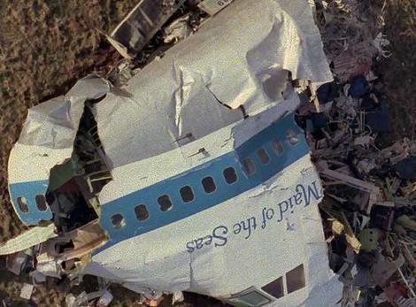 The bombing of Pan Am Flight 103 over Lockerbie, Scotland