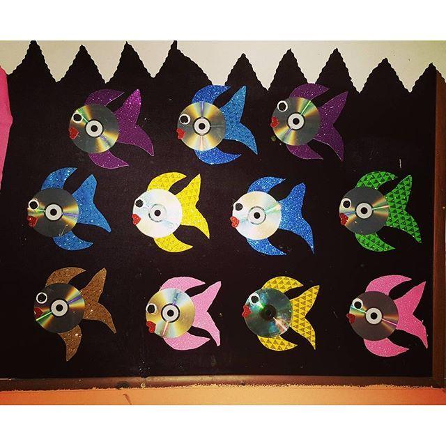 cd fish craft idea