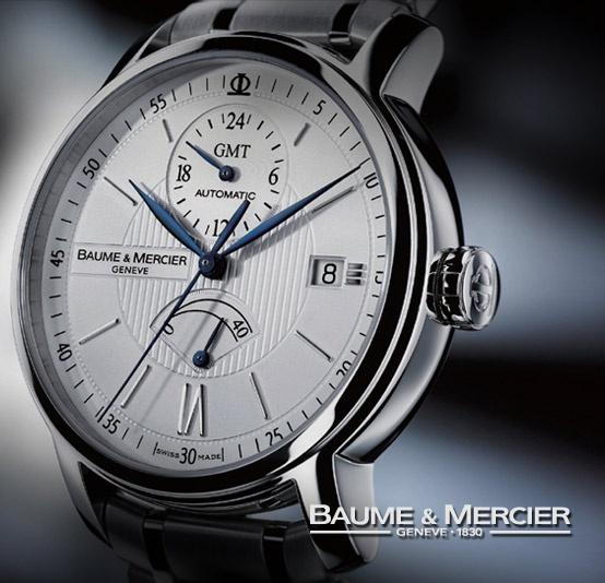 """""""Di tutti i grandi nomi dell'industria orologiera svizzera, Baume & Mercier è quello che ha una storia tra le più notevoli.    Trasmettendo una vocazione ricca di passione sin dal 1830, Baume & Mercier vanta una serie orgogliosa di raffinate complicazioni e di innovazioni pionieristiche e produce orologi che rispecchiano con coerenza un ideale di eccellenza e di lusso accessibile.""""...  www.baume-et-mercier.it"""