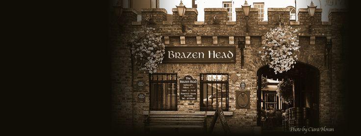 Ireland's oldest pub The Brazen Head