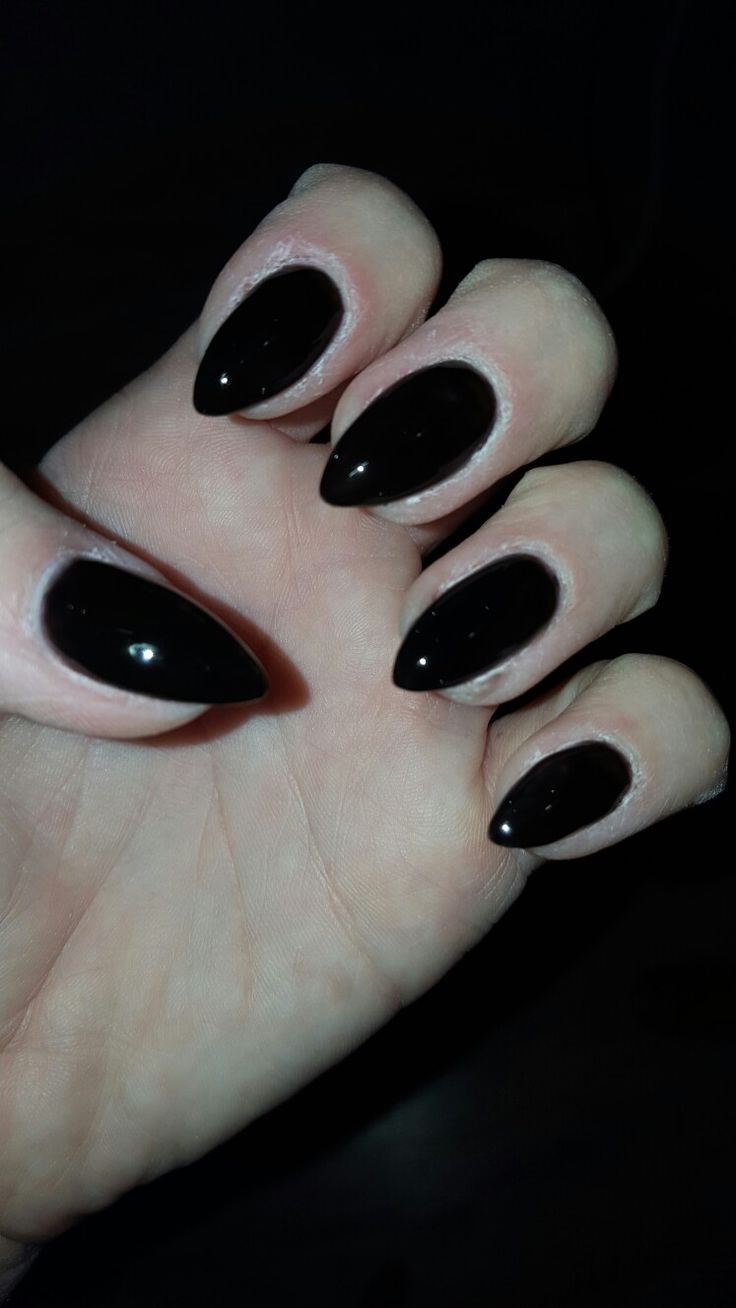 Black.  nail