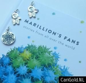 SPECIAL OFFER!!!!!!! Buy one of these Marillion Pendants and get the Marillion Fanbook book for free!!! Take a look at www.carigold.nl