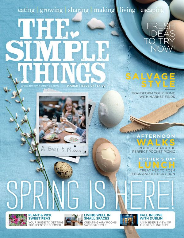 The Simple Things - www.thesimplethings.com    #thesimplethings #magazines #lifestyle #futurepublishing #bathjobs #londonjobs #mediajobs