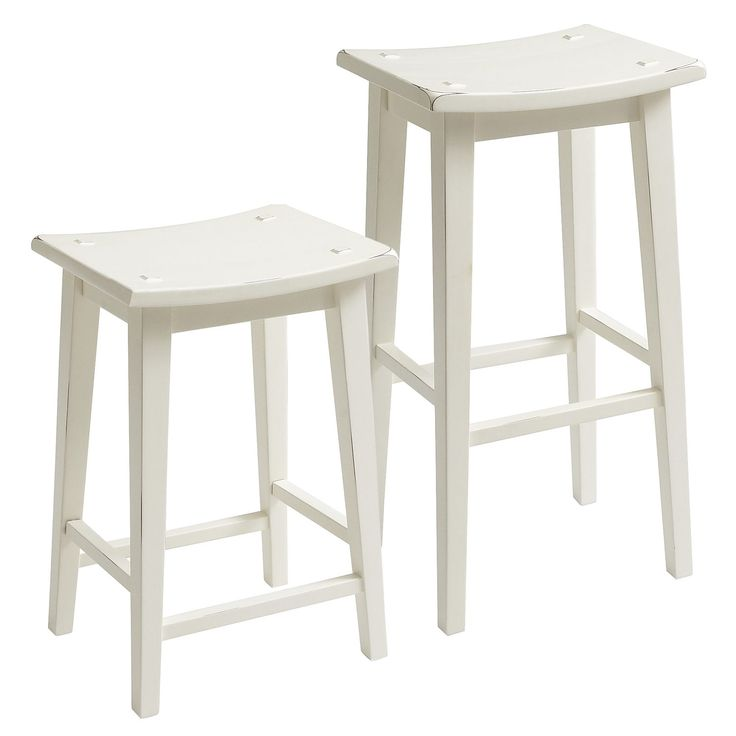 Lawson Backless Bar Amp Counterstool Antique White Pier