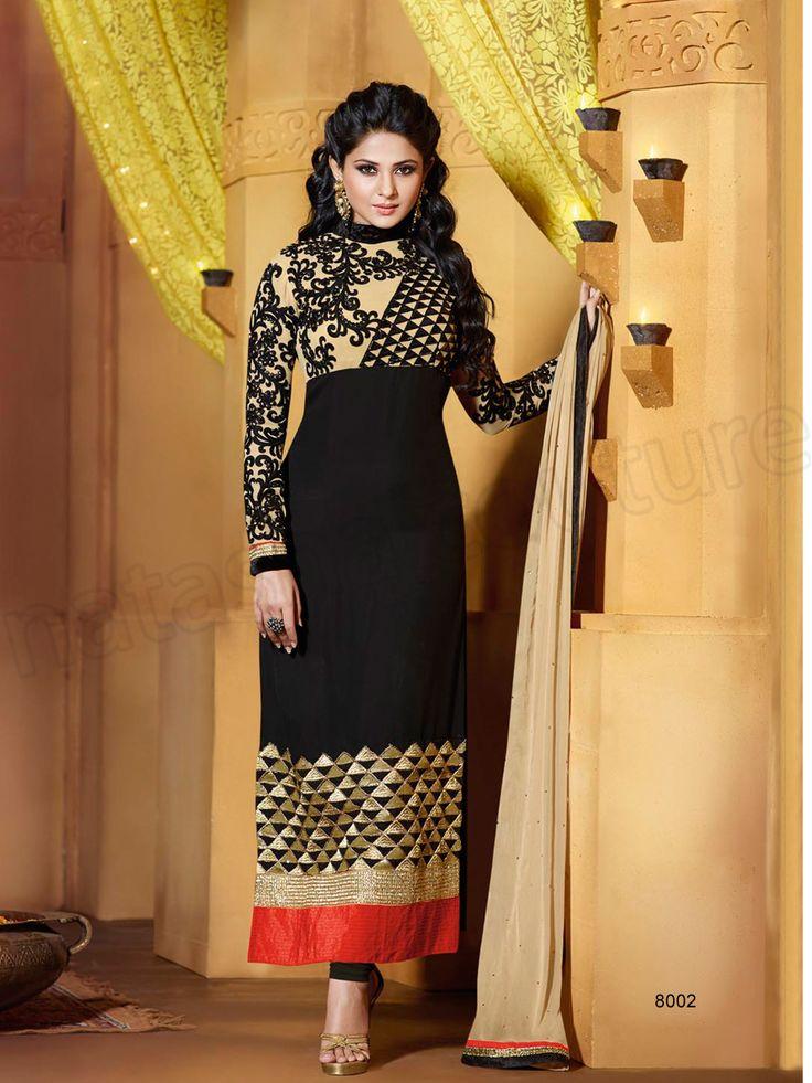 #Designer Salwar Kameez#Black#Indian Wear#Desi Fashion #Natasha Couture#Indian Ethnic Wear#Indian Suit
