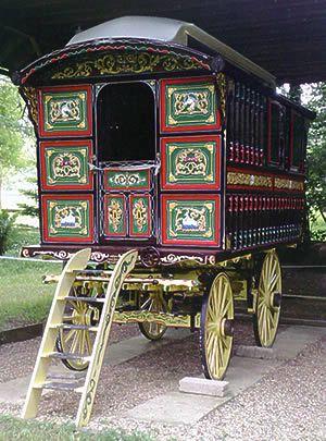 English Gypsy caravan, Gypsy wagon, Gypsy waggon and vardo:
