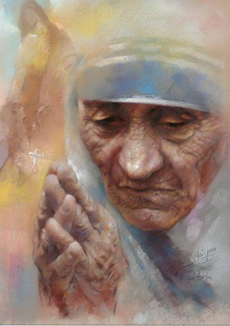 """""""I once picked up a woman from a garbage dump and she was burning with fever; she was in her last days and her only lament was: 'My son did this to me.' I begged her: You must forgive your son. In a moment of madness, when he was not himself, he did a thing he regrets. Be a mother to him, forgive him. It took me a long time to make her say: 'I forgive my son.' Just before she died in my arms, she was able to say that with a real forgiveness. She was not concerned that she was dying. The…"""
