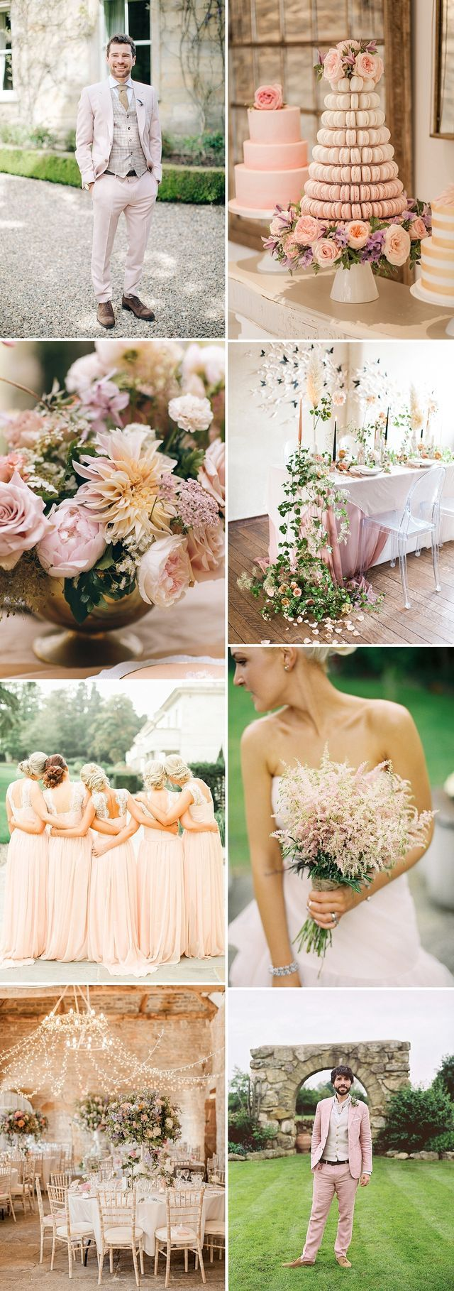 Perfect Blush Colour Themes For Your Wedding Day | Rock My Wedding | Bloglovin'