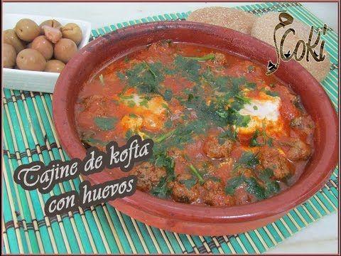 [Receta marroquí ] Tajine de kofta con huevos