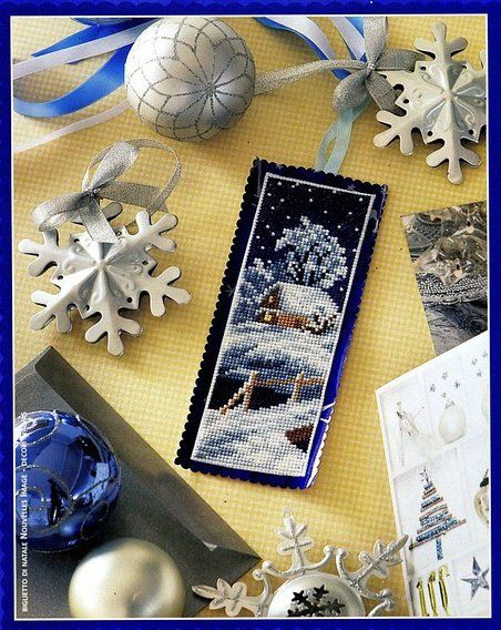 Christmas Bookmark Chart Picture