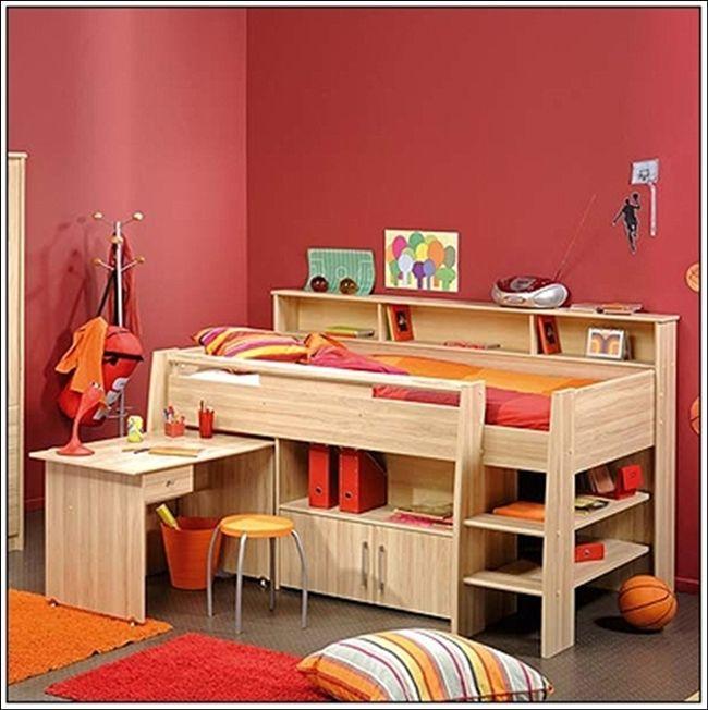 Amazing Interior Design Desk Beds For Little Fellows!