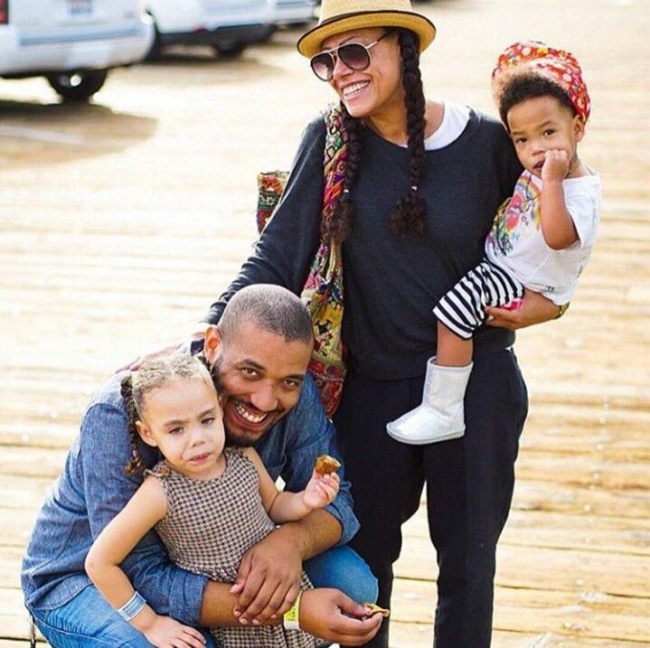 Cree Summers, husband and kids