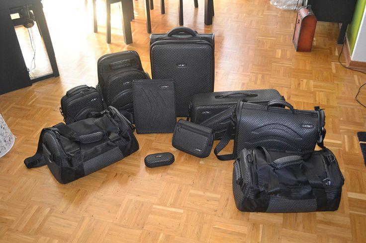 "Karsten's 10 LAT_56 bags! His ""happy family."""