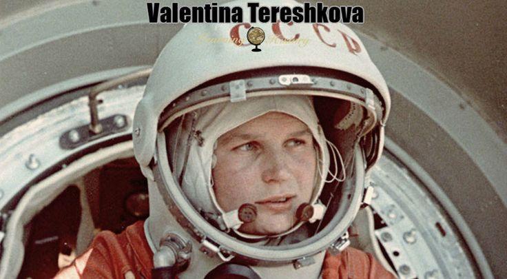 The First Woman in Space: Valentina Tereshkova via @learninghistory