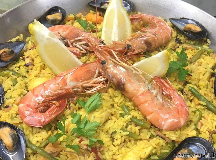 Ecco la ricetta della Paella spagnola così come si cucina a Pozzuoli