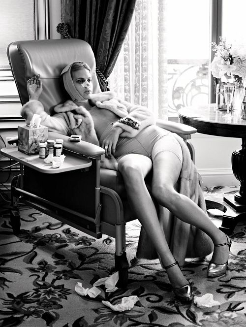 """""""Makeover Madness"""" photographed by Steven Meisel for Vogue Italia 2005"""