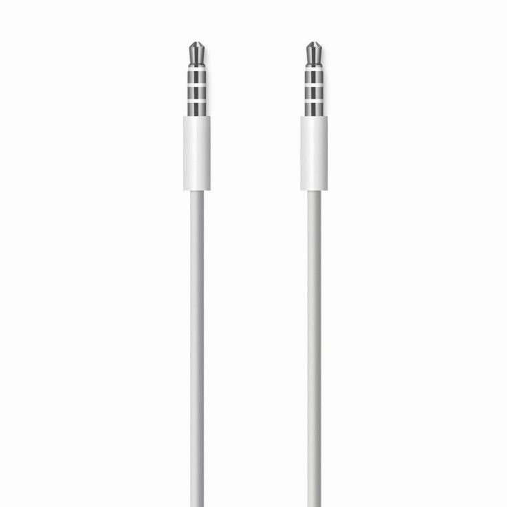 Find More Mobile Phone Cables Information about High Quality White 3.5mm To 3.5 mm Car Aux Audio Cable cord For iphone 6s ipod ipad mp3 mp4 iPod or iPad phone Car free shipping,High Quality cord trim,China cable service Suppliers, Cheap cable box power cord from beautiful daybreak on Aliexpress.com