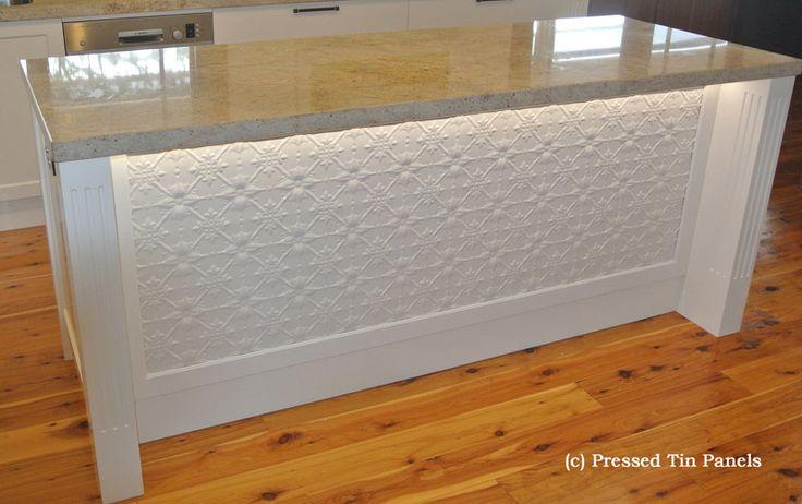pressed tin panels kitchen - Google Search