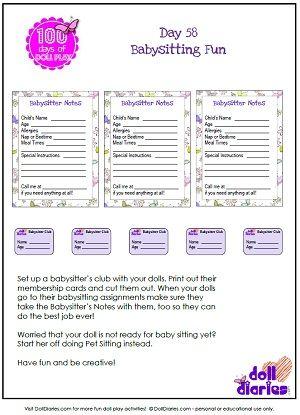 20 best Babysitting images on Pinterest Babysitting, Business card