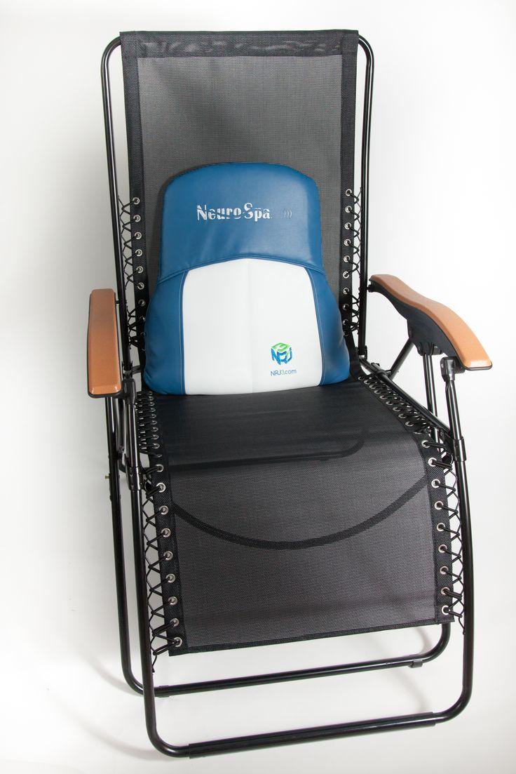 NeuroSpa NRJ3 chaise vue de face
