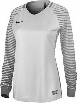 cfa6d7203e7 Nike Womens Gardien Goalkeeper Jersey – Pure Platinum/Cool Grey   Soccer  Gifts   Nike women, Nike, Soccer outfits