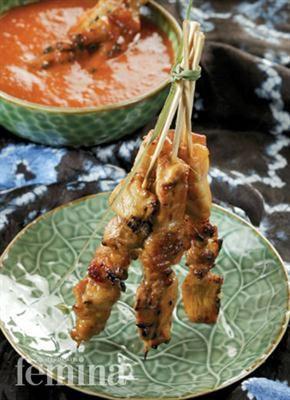 Satai Ayam Banjar (Chicken Satay Banjar)