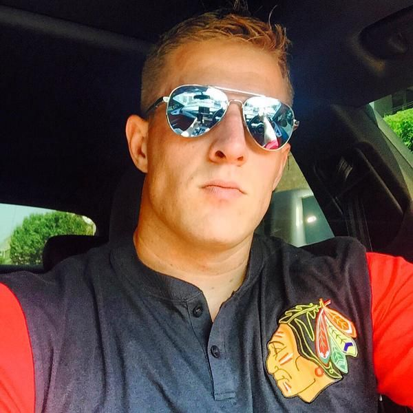Big-time hockey fan JJ Watt has some Stanley Cup Style, wouldn't you say?
