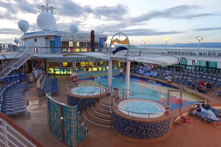 Radiance Of The Seas Royal Caribbean Pool Idea
