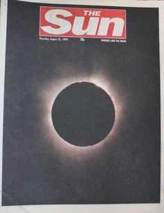 "1999: Millions marvel at total eclipse Up to 350 million people in Europe and Asia have witnessed the last total solar eclipse of the century.The phenomenon began over the Atlantic, a few hundred miles east of Boston, North America.The only part of mainland Britain to witness totality - the full blacking out of the sun by the moon - was Cornwall in south-west England. The temperature dropped and darkness fell at 1111 BST  described as a ""strange, weird experience""."