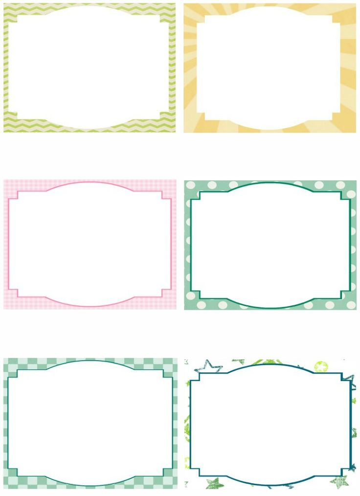 This is an image of Punchy Free Printable Blank Cards