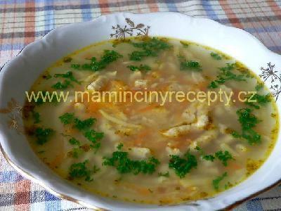 Kvasnicová polévka