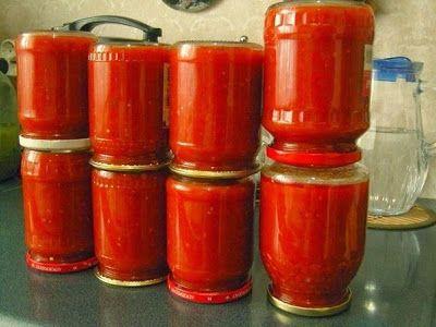 Домашний кетчуп - объедение