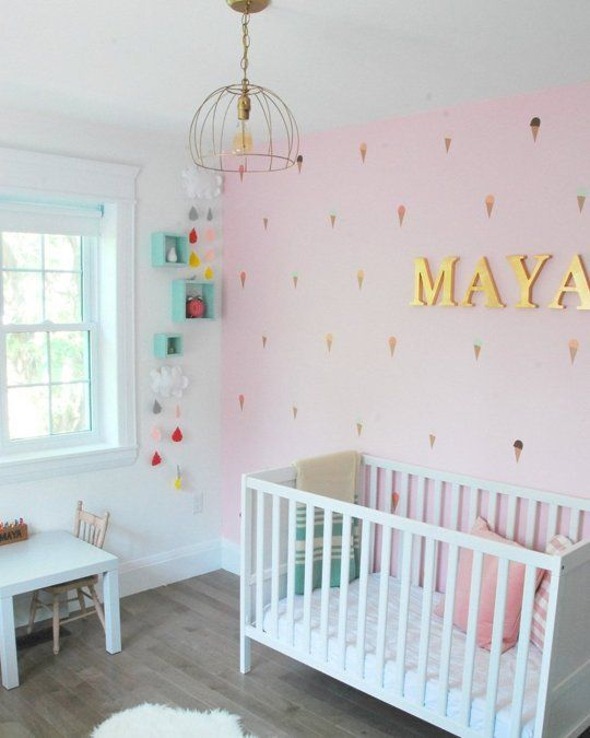 Pink Accent Walls, Kids Pages And Maya