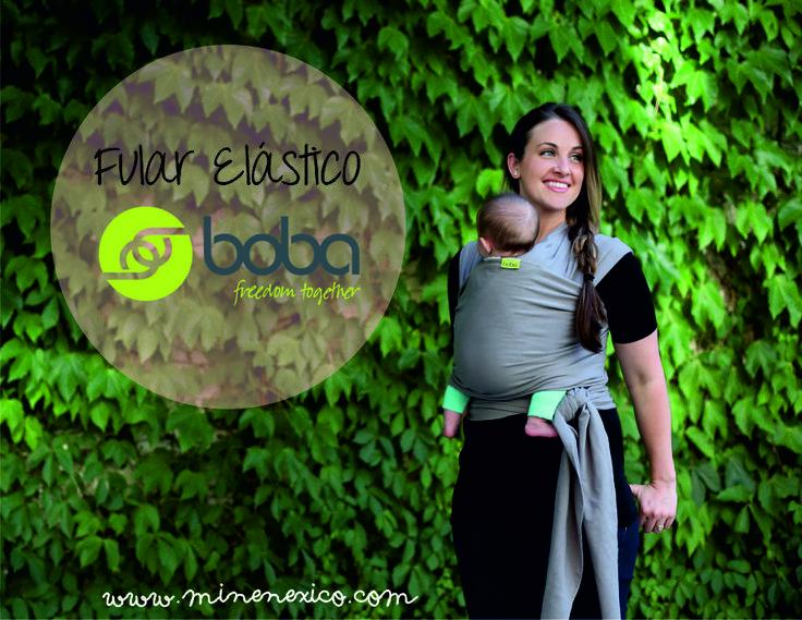 #Fular #Elástico #BobaWrap para portear #bebés desde el #nacimiento hasta los 9kg.