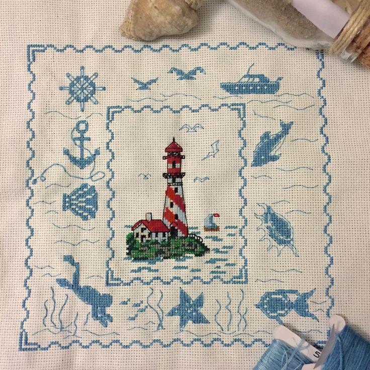 #crossstich #denizfeneri #lighthouse