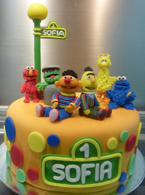 sesame street cake | Flickr - Photo Sharing!