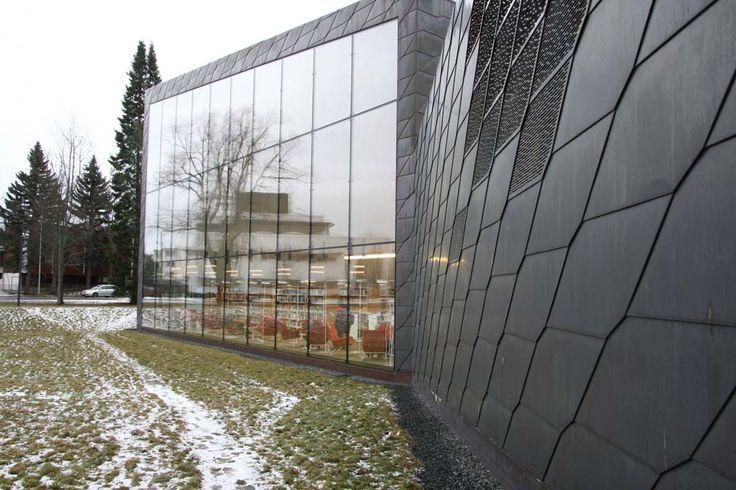 Seinajoki, Library #Seinajoki #Architecture #JKMM