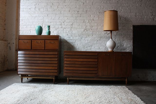 mid century modern bedroom set drawers consoles and cabinets pi