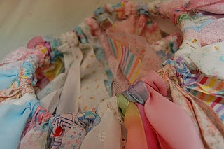 No-Sew Scrap Fabric Tutu - perfect gift for a little girl :)