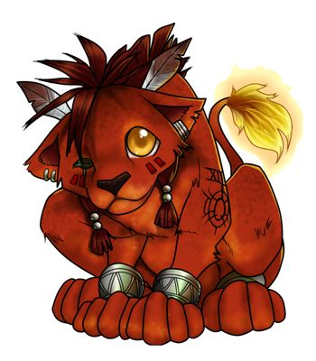Red XIII. Why didn't they put him Final Fantasy XIII