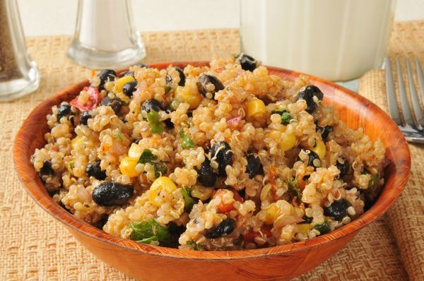 Southwestern Black Bean Quinoa Salad