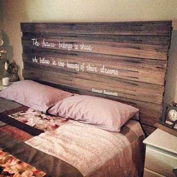 Recycled timber bedhead bed my head pinterest timber for Recycled timber beds
